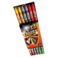 DARTS RAKÉTA  12/pack